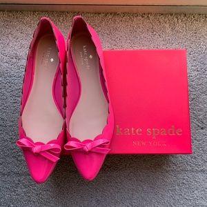 NWOT Kate Spade flats in Carousel Pink